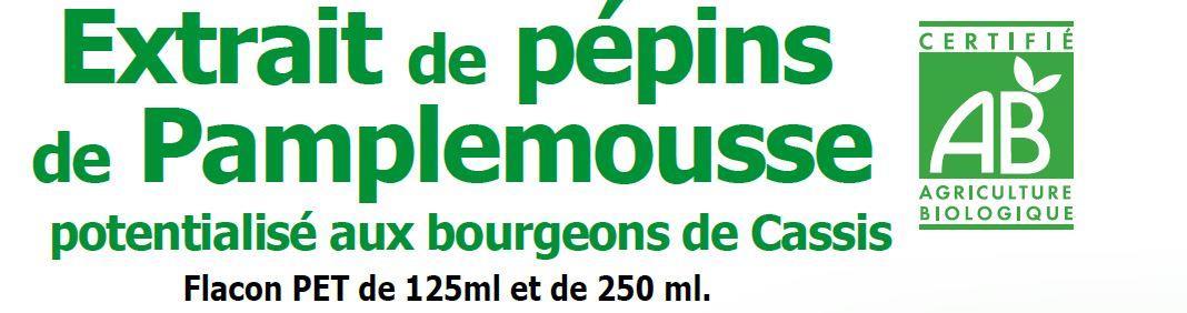 l'extrait de pépins de pamplemousse bio: le pouvoir antibiotique et assainissant