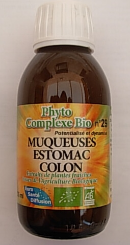 une solution naturelle contre le reflux gastrique: le phyto-complexe muqueuse estomac/colon