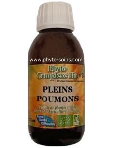 Phyto-complexe BIO n°39 Pleins poumons ( maladie respiratoire: bronchite, grippe...))