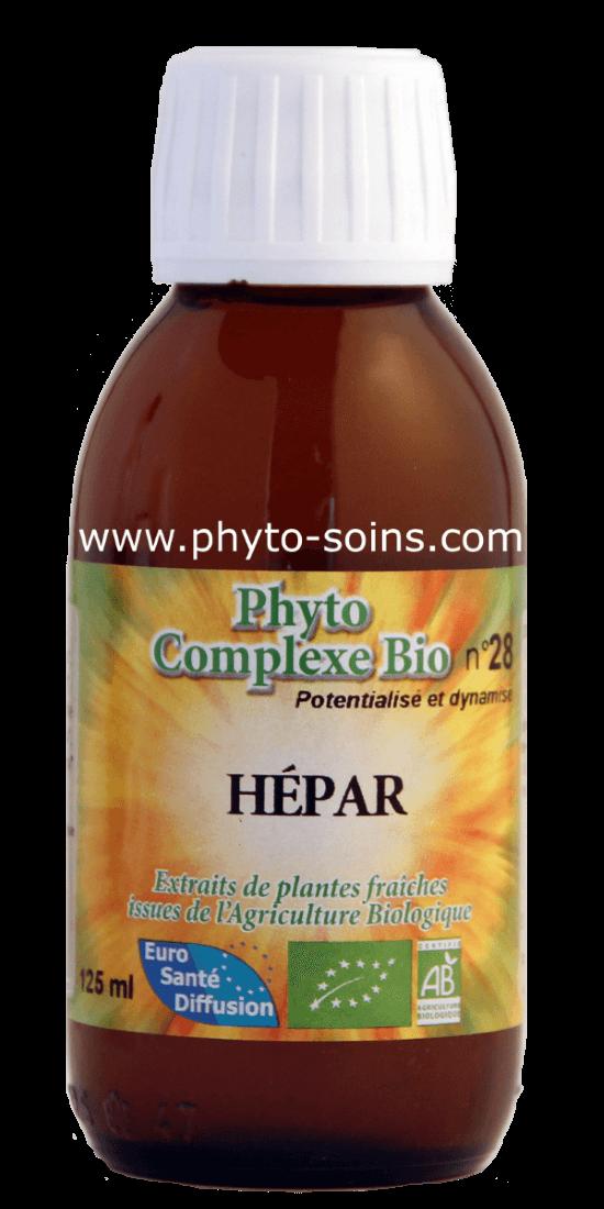 phyto-complexe hépar détoxifie, dynamise et protége le foie