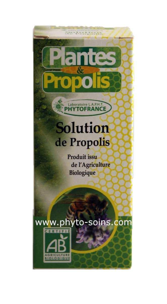 solution de propolis BIO | phyto-soins