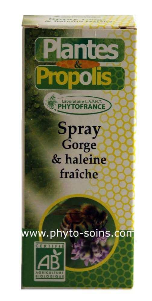 Spray pour la gore à la propolis BIO