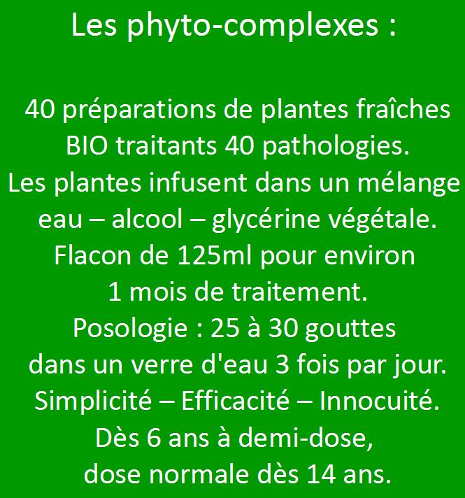 les phyto-complexes: le meilleur de la phytothérapie moderne