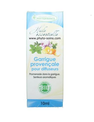 Mélange d'huiles essentielles garrigue provençale pour diffuseur