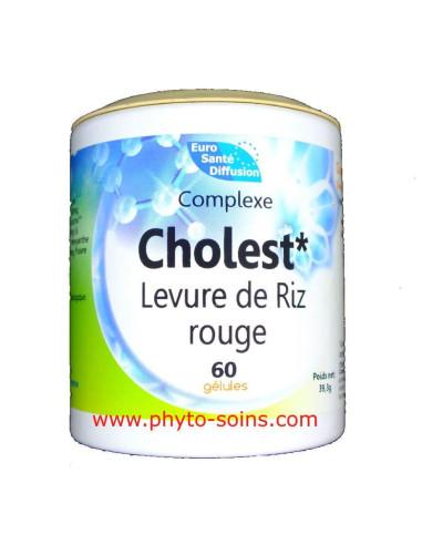 Levure de riz rouge + (cholestérol)