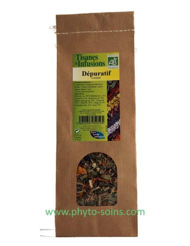 Tisane dépurative cutanée BIO phytofrance - phyto-soins