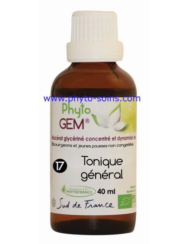 Phyto'gem 17 tonique général phytofrance | phyto-soins