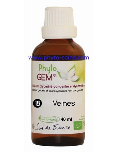 Phyto'gem 18 veines phyytofrance | phyto-soins