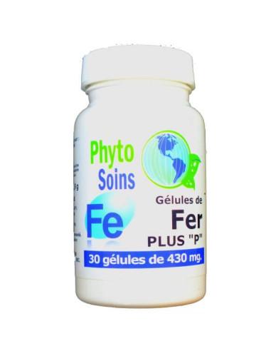 Gélules de Fer, Vit C et Vit B9 | phyto-soins