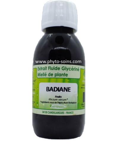 Extrait fluide glycériné miellé de Badiane BIO Phytofrance | phyto-soins