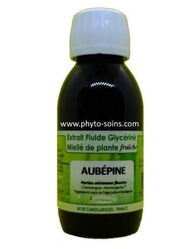 Extrait fluide glycériné miellé d'Aubépine BIO Phytofrance | phyto-soins