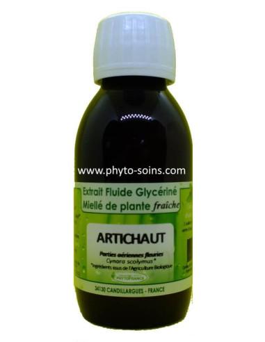 Extrait fluide glycériné miellé d'Artichaut BIO Phytofrance | phyto-soins
