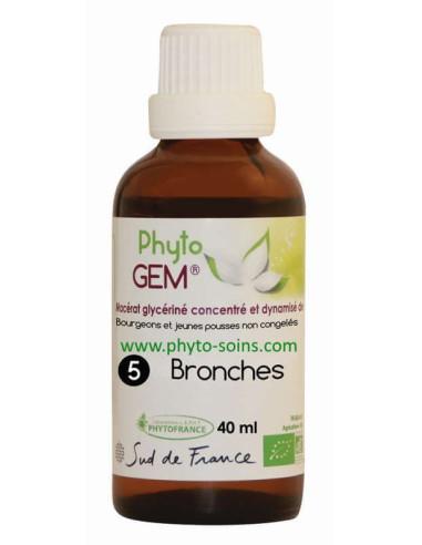 Phyto'gem 5 bronches BIO laboratoire phytofrance | phyto-soins