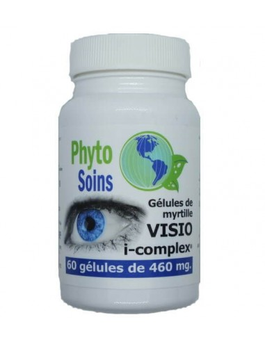 Gélules de Myrtille et lutéine pour la vision phyto-soins