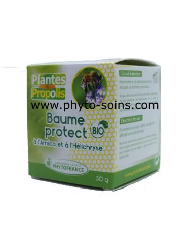 Baume Protect à l'Arnica et à l'Hélychrise laboratoire phytofrance | phyto-soins