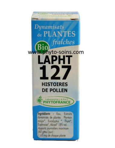 LAPHT 127 Histoires de pollen laboratoire phytofrance | phyto-soins