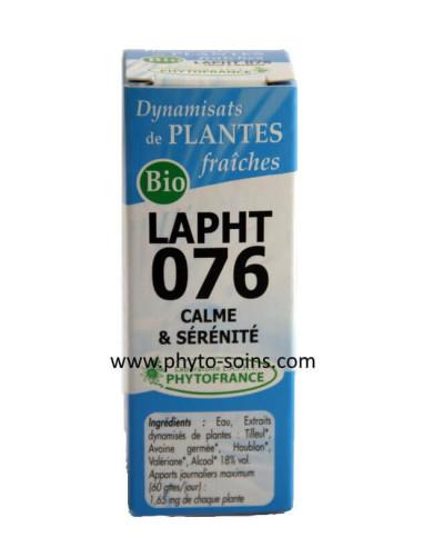 LAPHT 076 Calme et sérénité laboratoire phytofrance
