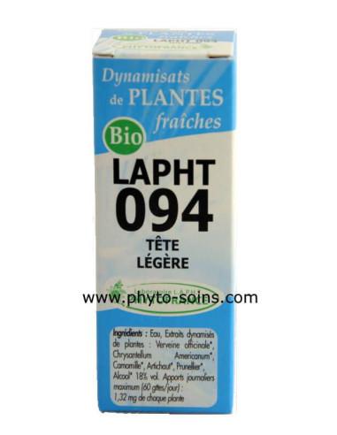 LAPHT 094 Tête légère laboratoire phytofrance | phyto-soins