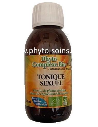 Phyto-complexe BIO n°34 Tonique sexuel