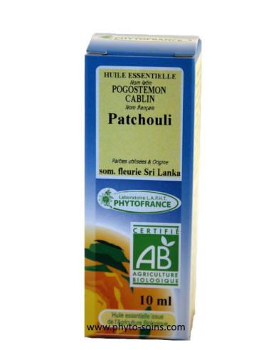 Huile essentielle de Patchouli BIO
