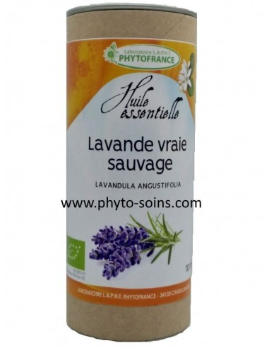 Huile essentielle de Lavande officinale (vraie ou angustifolia) sauvage et BIO