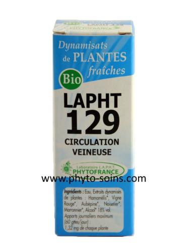 LAPHT 129 Circulation veineuse BIO