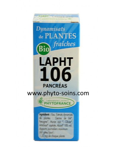 LAPHT BIO 106 Pancréas diabète