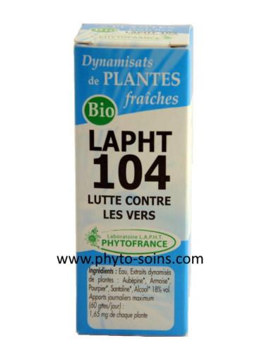 LAPHT 104 Lutte contre les vers