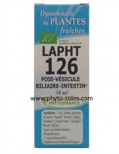 LAPHT 126 BIO Foie- Vésicule biliaire - Intestin