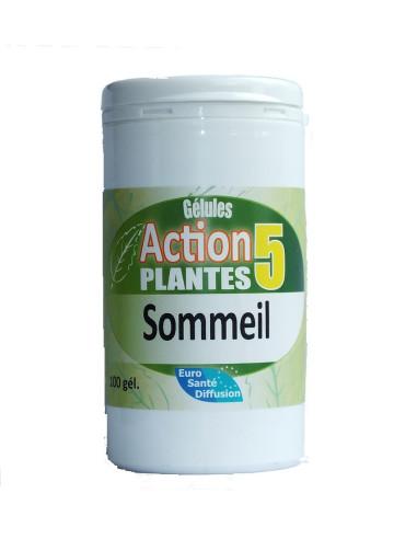 Gélules action 5 plantes sommeil