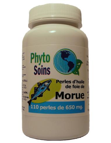 Capsules d'huile de foie de morue phyto-soins