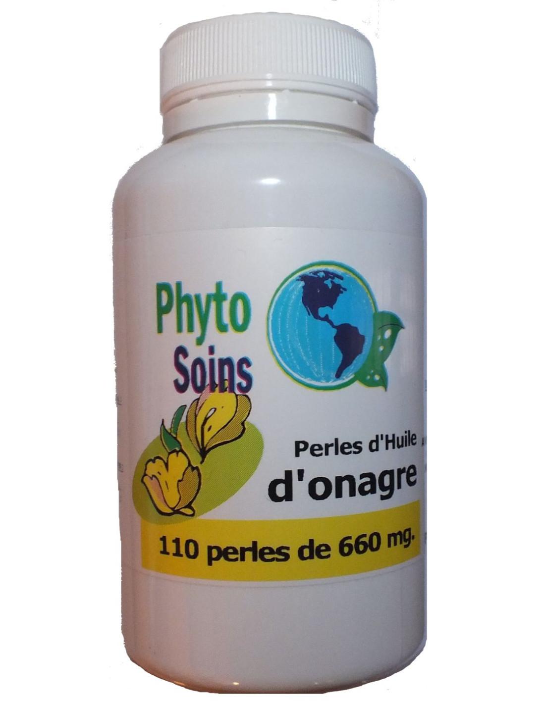 110 capsules d'huile d'Onagre riche en omégas 6 à 9€