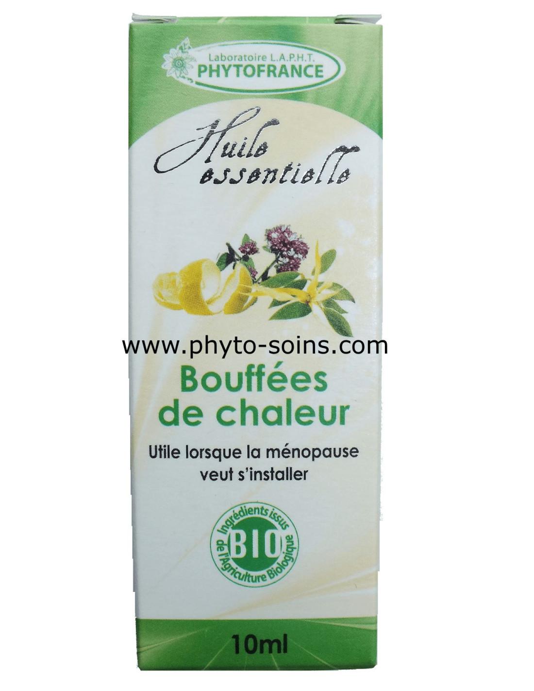 Huiles Essentielles Contre Les Souris complexe d'huiles essentielles bio menofraîche bouffées de chaleur