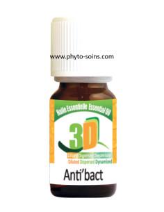 Huiles essentielles 3D: antibiotique naturel (anti'bact 8.01) étui
