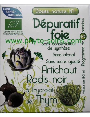 Doses nature n°1 dépuratif foie