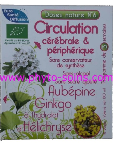 Doses nature 6 circulation cérébrale et périphérique