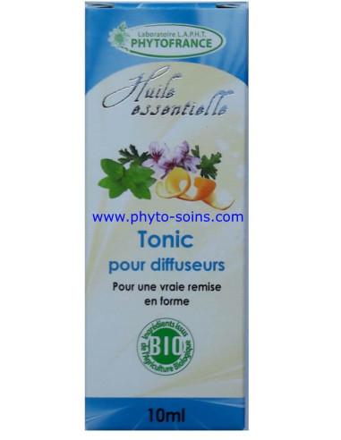 mélange d'huiles essentielles BIO pour diffuseur tonic