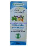 Mélange d'huiles essentielles BIO hespérides pour diffuseur