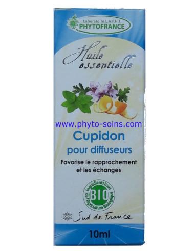 mélange d'huiles essentielles BIO aphrodisiaque pour diffuseur