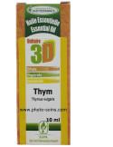 Huile essentielle 3D Thym vulgaire à thymol (solution buvable)