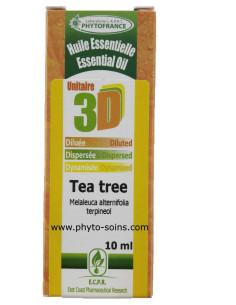 Huile essentielle 3D Tea tree/ arbre à thé (solution buvable)
