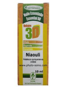Huile essentielle 3D Niaouli BIO (solution buvable)
