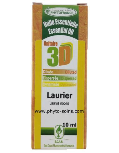 Huile essentielle 3D Laurier noble BIO (solution buvable)