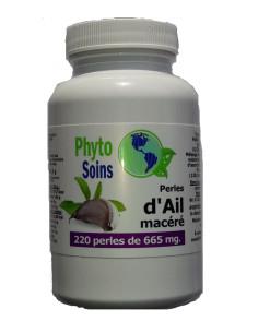 Capsules d'ail macéré hautement dosées (110 ou 220 capsules)