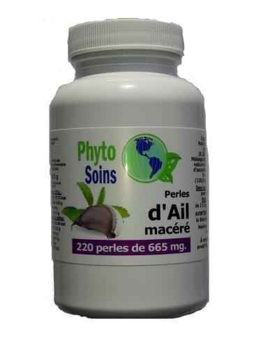 Capsules d'Ail macéré phyto-soins