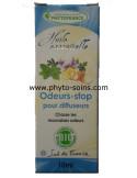 mélange d'huiles essentielles BIO odeurs stop pour diffuseur