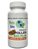 Gélules de pollen BIO + gelée royale