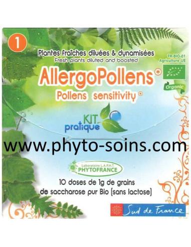Kit pratique 01: allergopollens 10 doses