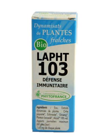 LAPHT 103 BIO Défense immunitaire