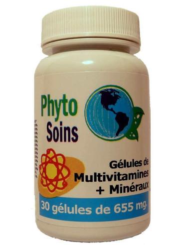 Comprimés multi-vitamines et minéraux
